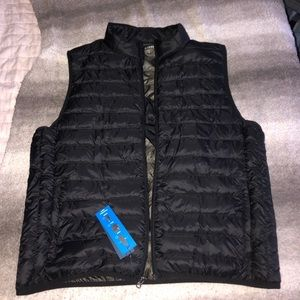 Men's saddlebred puffer vest